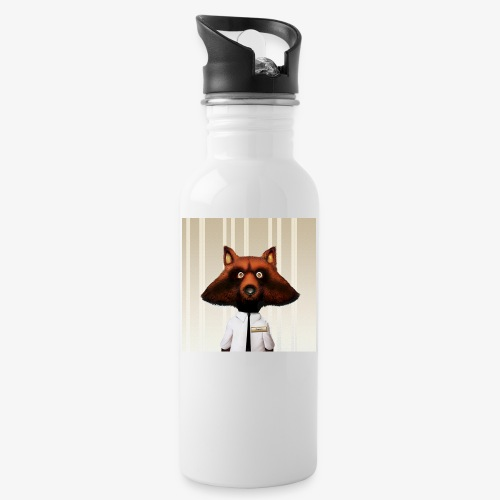 Jonesy - Water bottle with straw
