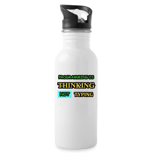 THINKING - Juomapullo, jossa pilli