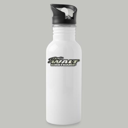 DWALT Logo Camo Zubehör - Trinkflasche mit integriertem Trinkhalm