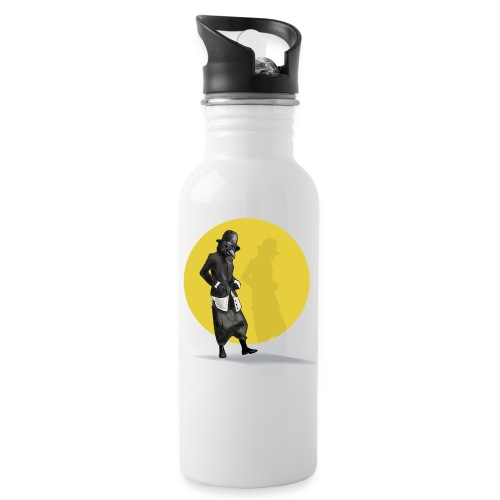 CROW girl - Water bottle with straw