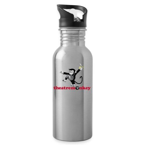 Sammy with Jazz Hands! - Water bottle with straw
