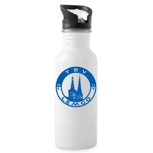 TBV Lemgo Logo - Trinkflasche mit integriertem Trinkhalm