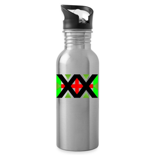 UDS 5 - Water bottle with straw