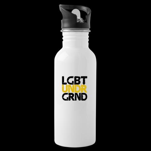 LGBT UNDERGROUND - Water bottle with straw