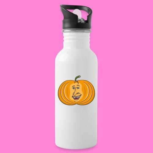 Rick pumpkin - Drinkfles met geïntegreerd rietje