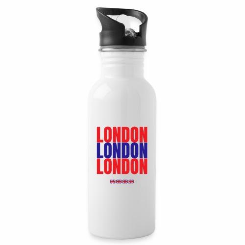 Shop London Hoodie, Sweatshirt Souvenir T-shirts - Water bottle with straw