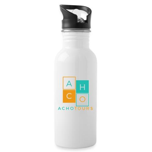 ACHOtours - Botella cantimplora con pajita integrada