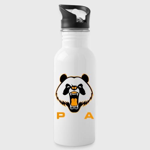 P.and.A ORANGE - Botella cantimplora con pajita integrada