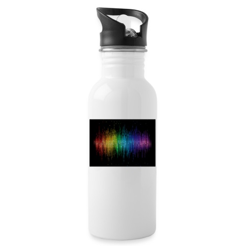 THE DJ - Water bottle with straw