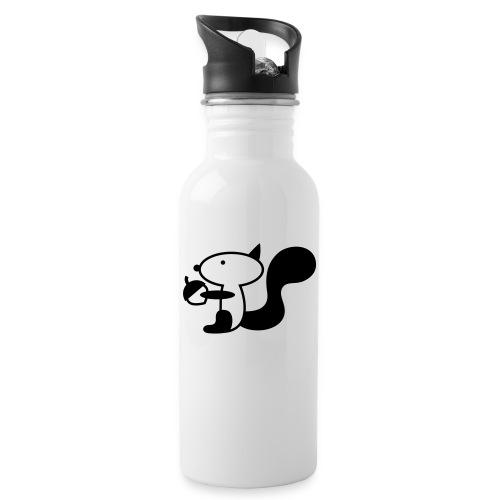 squirrelbw - Drinkfles met geïntegreerd rietje