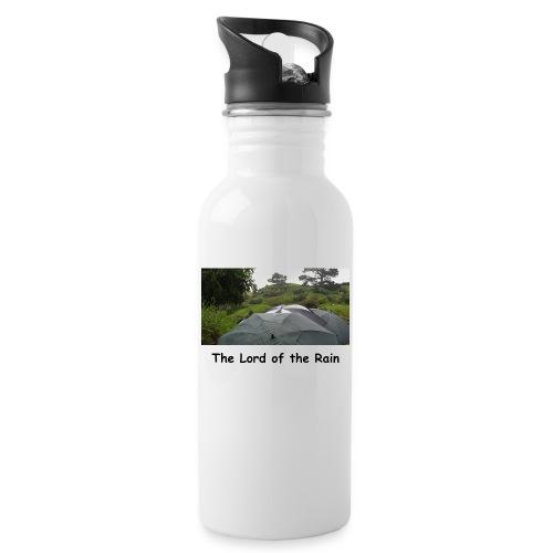 The Lord of the Rain - Neuseeland - Regenschirme - Trinkflasche mit integriertem Trinkhalm