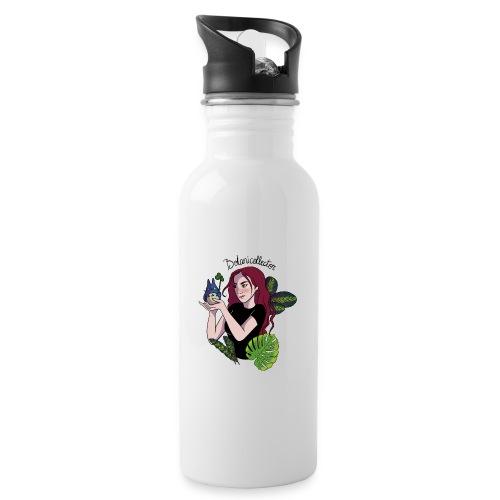 Botanicollector - Drinkfles met geïntegreerd rietje