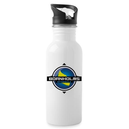 BORNHOLMS_EFTERSKOLE - Drikkeflaske med integreret sugerør