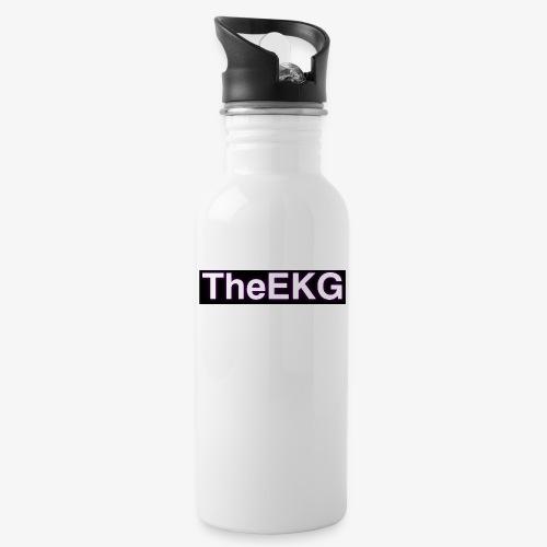 2 - Trinkflasche mit integriertem Trinkhalm