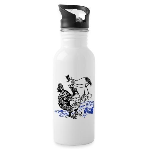 Dronte - Trinkflasche mit integriertem Trinkhalm