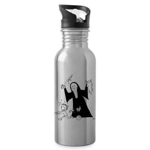 halloween t-skjorte - Drikkeflaske med integrert sugerør
