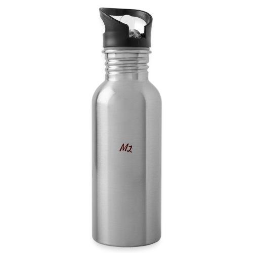 ML merch - Water bottle with straw