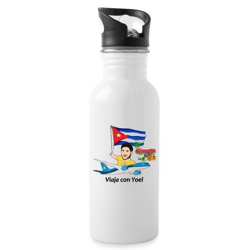 Cuba - Viaja con Yoel - Botella cantimplora con pajita integrada