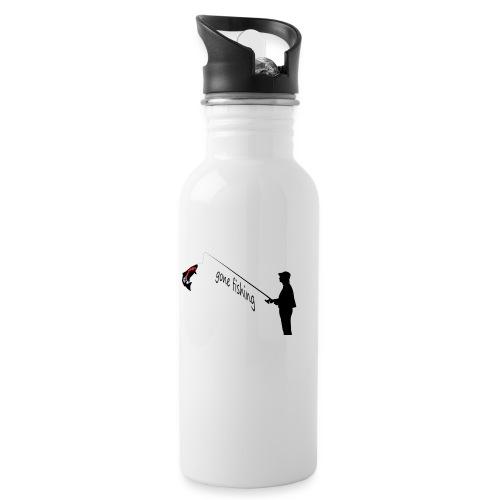 team norge 21 - Trinkflasche mit integriertem Trinkhalm
