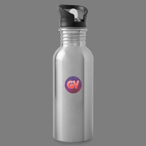 GV 2.0 - Drinkfles met geïntegreerd rietje