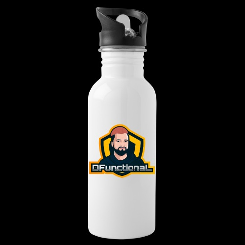 DFunctionaL Merch - Water bottle with straw