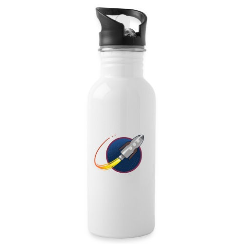 GP Rocket - Water bottle with straw