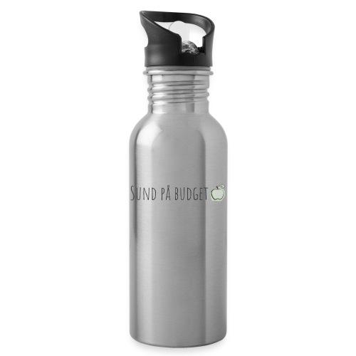 Sund på budget - Drikkeflaske med integreret sugerør