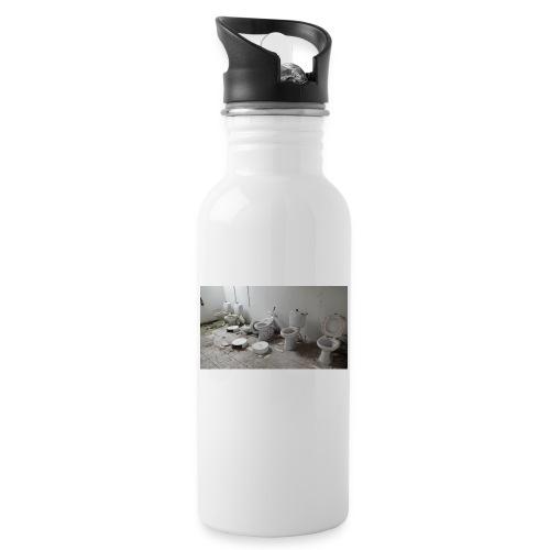 Toilets - Drikkeflaske med integreret sugerør