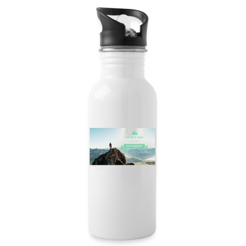 fbdjfgjf - Water bottle with straw