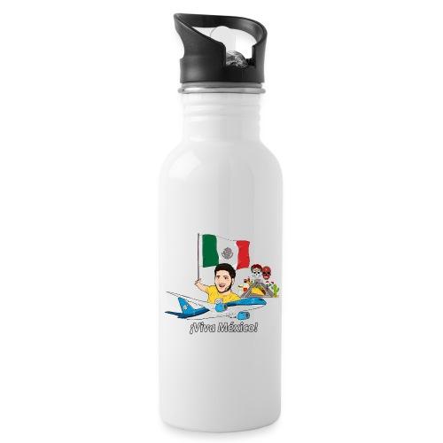 ¡Viva México! - Viaja con Yoel - Botella cantimplora con pajita integrada