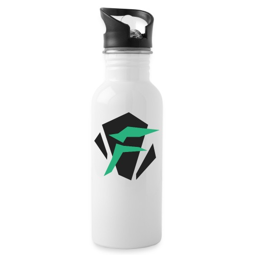 Logo - Drikkeflaske med integrert sugerør