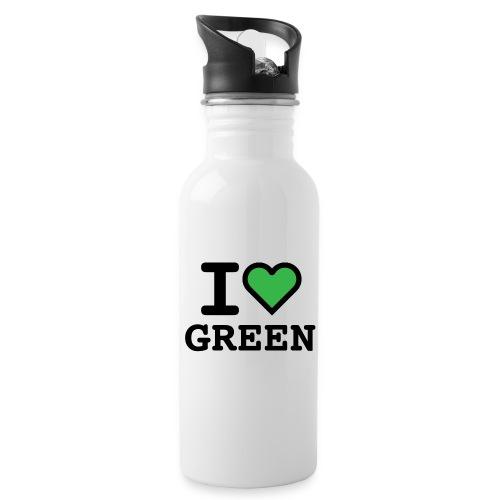 i-love-green-2.png - Borraccia con cannuccia integrata
