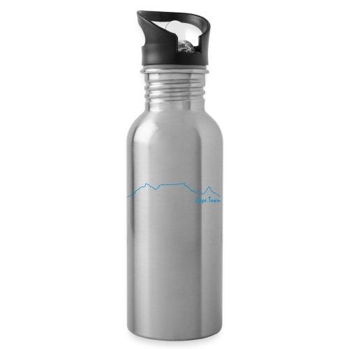 TableMountain-Cape Town - Trinkflasche mit integriertem Trinkhalm