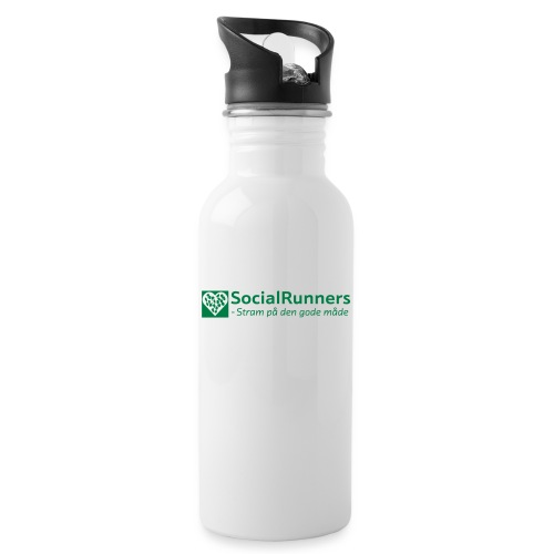 SR Official - Drikkeflaske med integreret sugerør