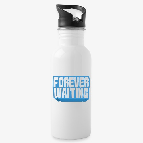 Forever Waiting - Water bottle with straw