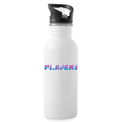 Arcade Game - Player 1 - Water bottle with straw