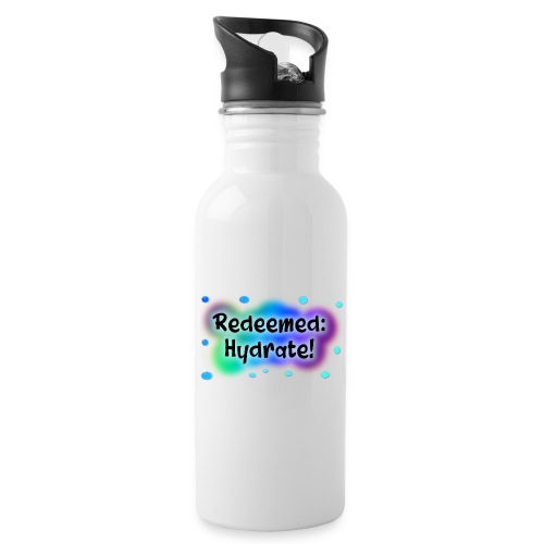 Hydrate - Water bottle with straw