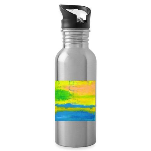 Sonnentag - Trinkflasche mit integriertem Trinkhalm