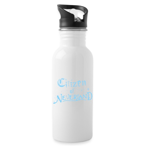 Citizen_blue 02 - Water bottle with straw