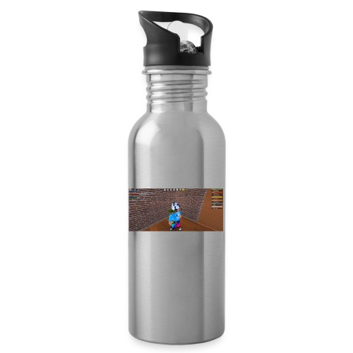 panda time - Water bottle with straw