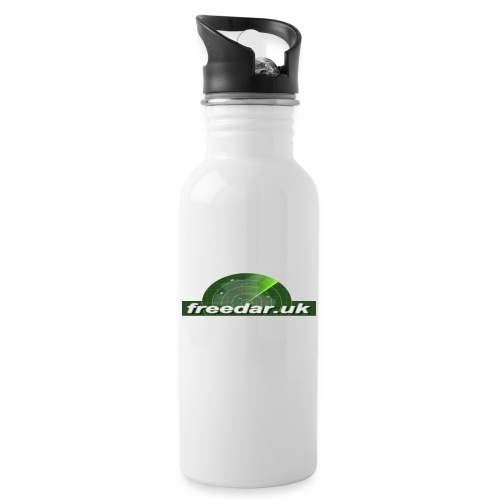 Freedar - Water bottle with straw
