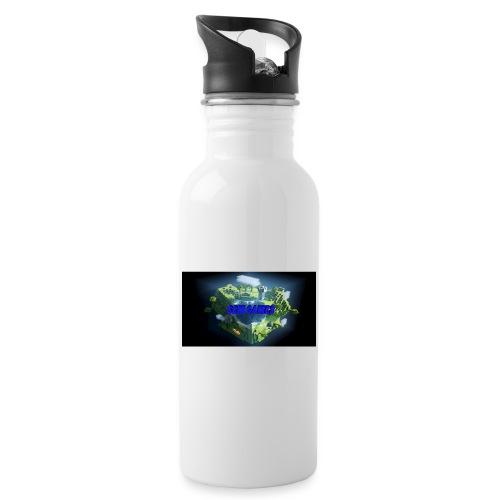 T-shirt SBM games - Drinkfles met geïntegreerd rietje