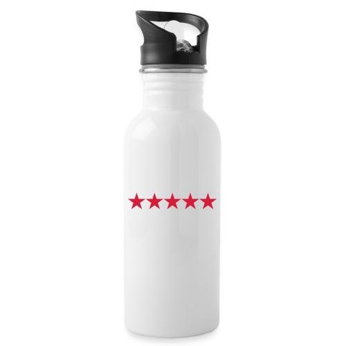 Rating stars - Juomapullo, jossa pilli