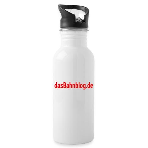 dasBahnblog de - Trinkflasche mit integriertem Trinkhalm