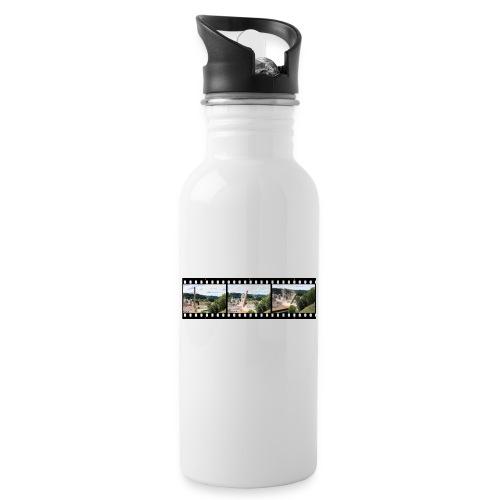 WanderKaminFall - Trinkflasche mit integriertem Trinkhalm