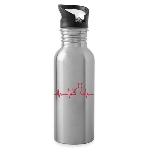 Vorschau: Ein Herz für Katzen - Trinkflasche
