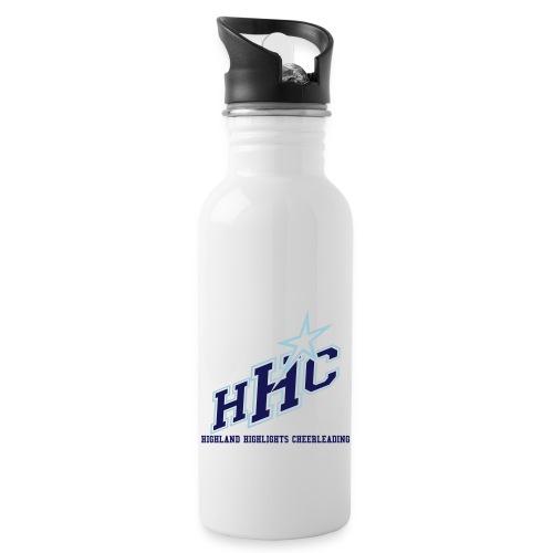 HHC - Trinkflasche mit integriertem Trinkhalm