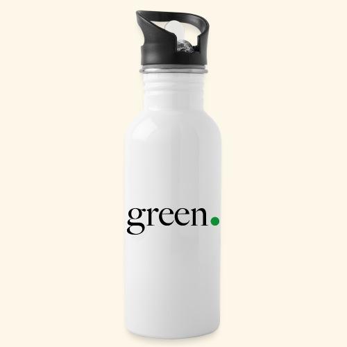 Green - Gourde avec paille intégrée