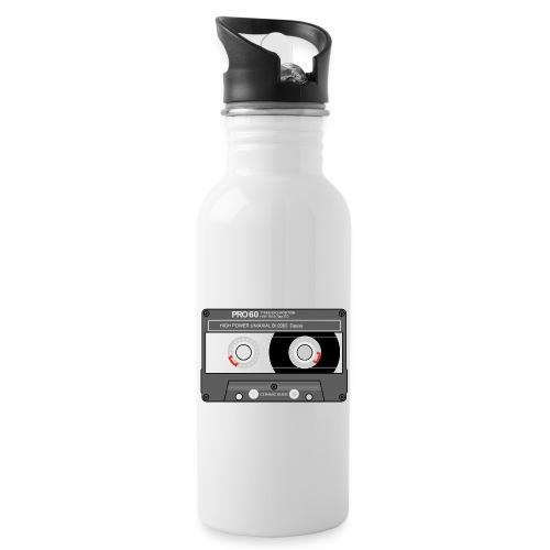 Cassette SONY UX Pro black - Water bottle with straw