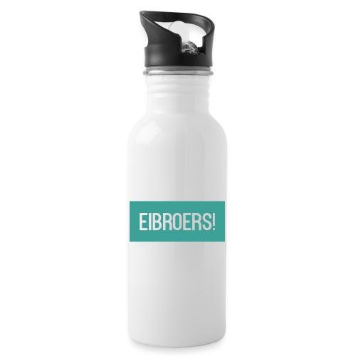 T-shirt Vrouwen - Drinkfles met geïntegreerd rietje